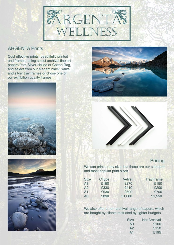 Argenta Price list May 2018Printslowres